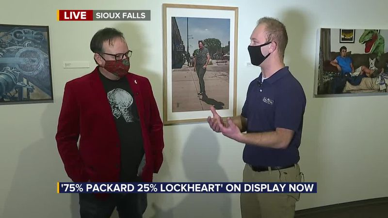 """""""75% Packard 25% Lockheart"""" on display now at the Washington Pavilion"""