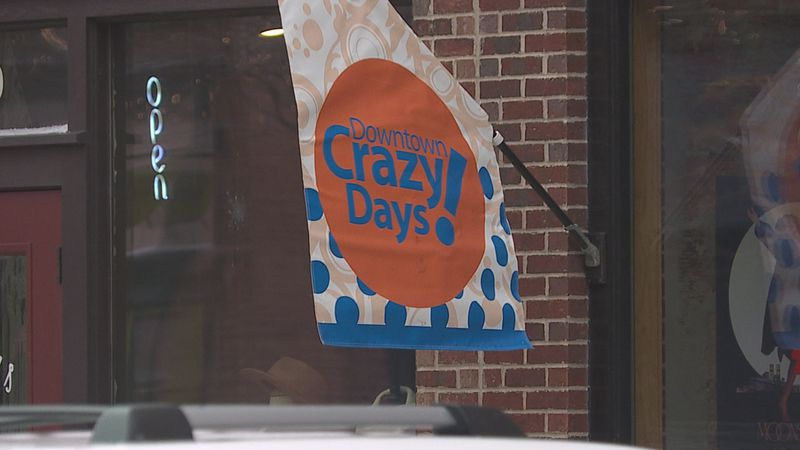Downtown Sioux Falls celebrates 'Crazy Days'