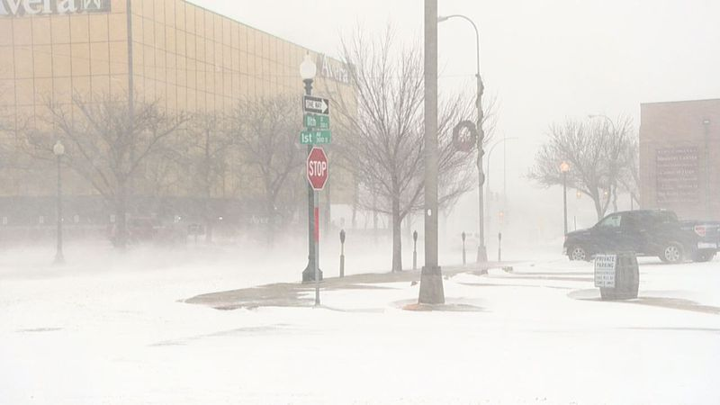 Sioux Falls Police were advising people to take it easy on the roads Wednesday. Road conditions...