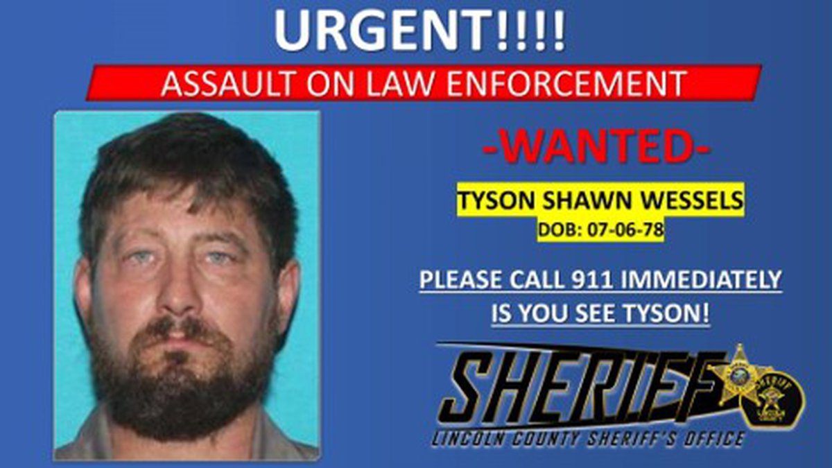 Authorities are searching for a suspect who they say assaulted a Turner County deputy and stole...