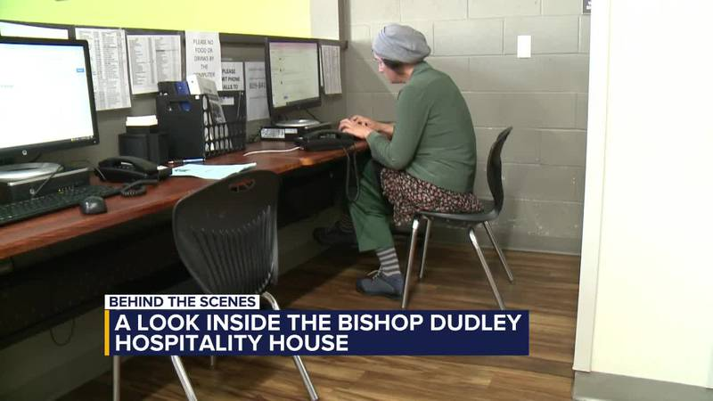 Behind the scenes: A look inside the Bishop Dudley Hospitality House