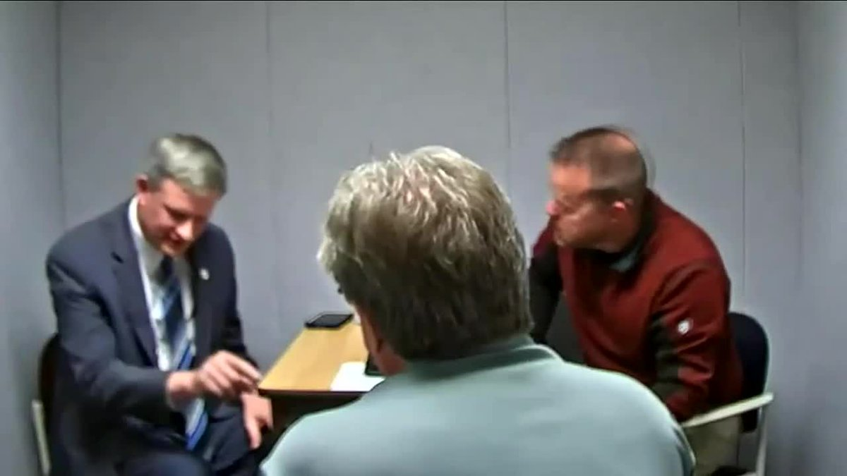 South Dakota Attorney General Jason Ravnsborg is seen here in part of hours of tape released by...