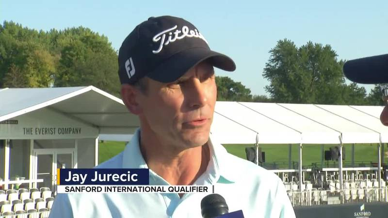 Jay Jurecic plays his first PGA event in Sioux Falls after leaving his teaching job to pursue...