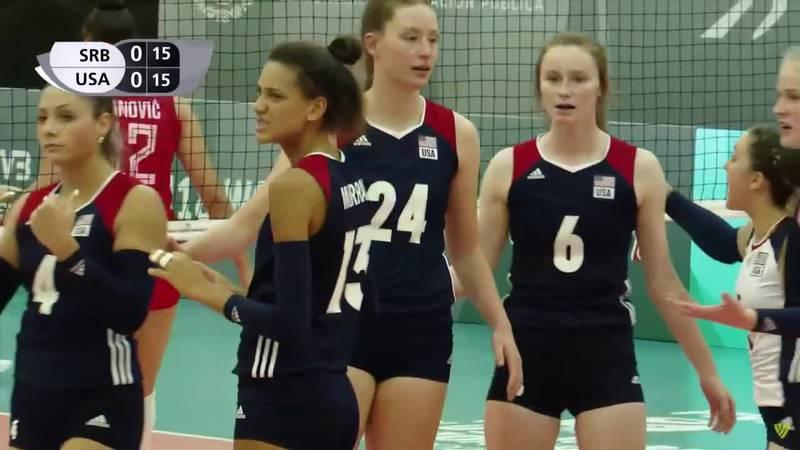 O'Gorman's Bergen  Reilly helps Team USA win Bronze at World Volleyball Championships