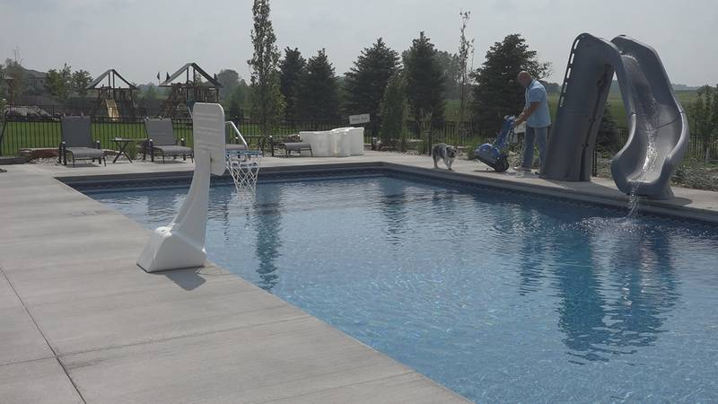 This summer, pool sales are soaring.