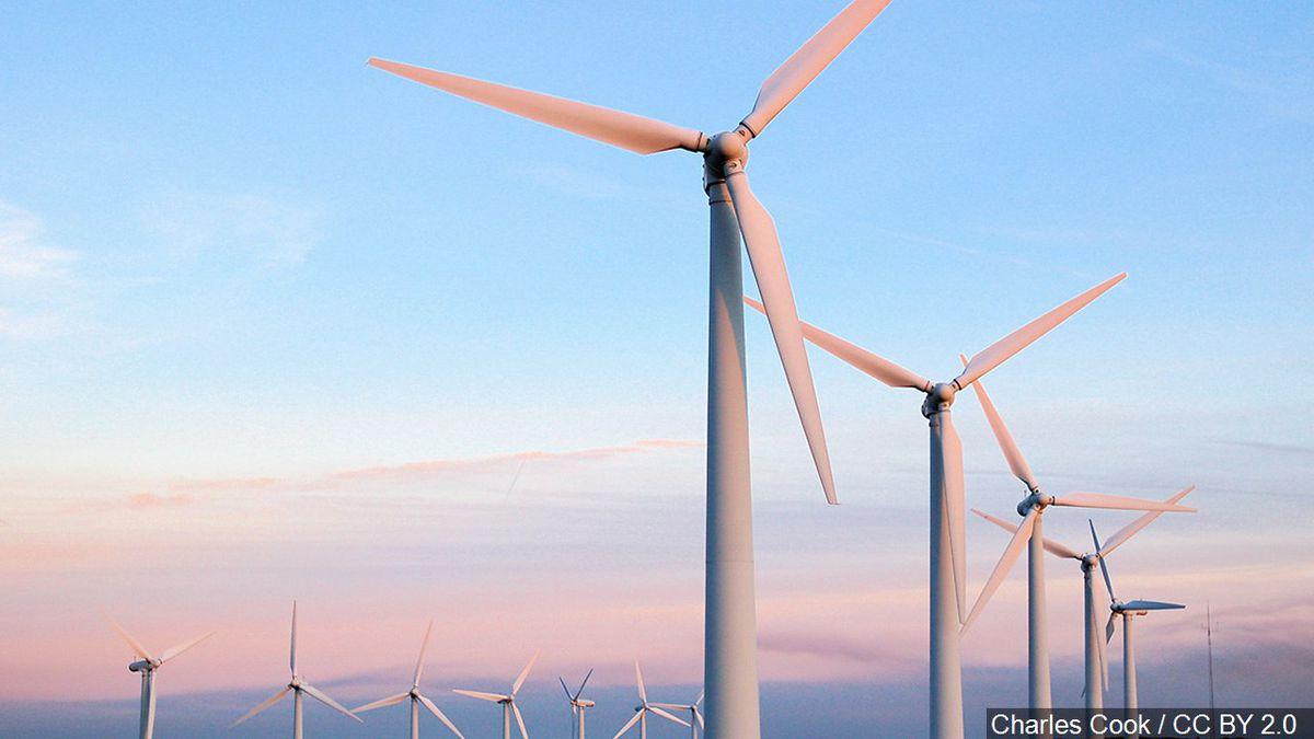 Generic file image of a wind farm, Photo Date: February 4, 2007