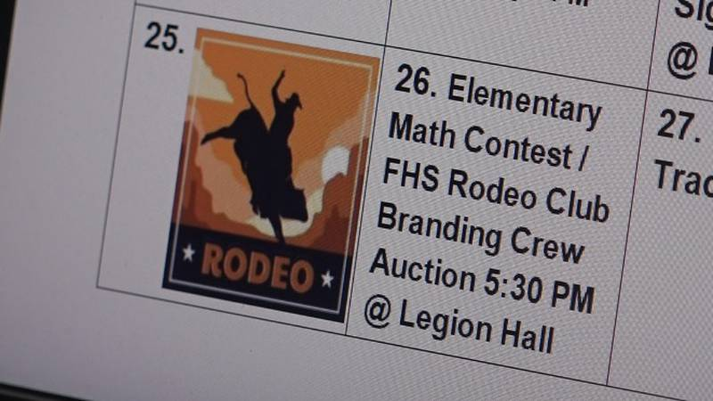 Members of the school district have stated that the rodeo club is not school sanctioned and...