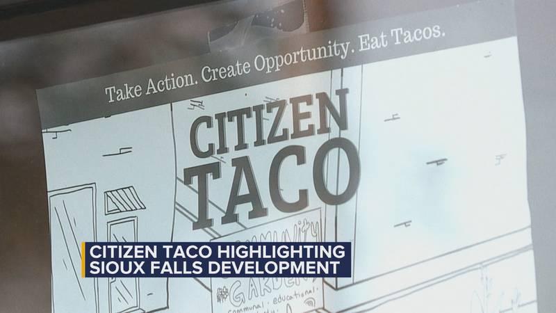 """""""Citizen Taco"""" highlights Sioux Falls development"""