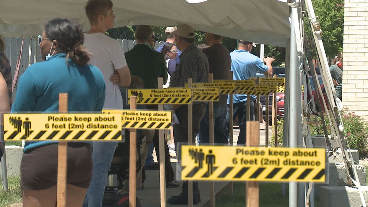 long lines for registration and title transfers in Minnehaha county