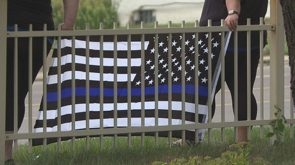 Back the Blue Rally encouraged many to come out in support of Sioux Falls Police.