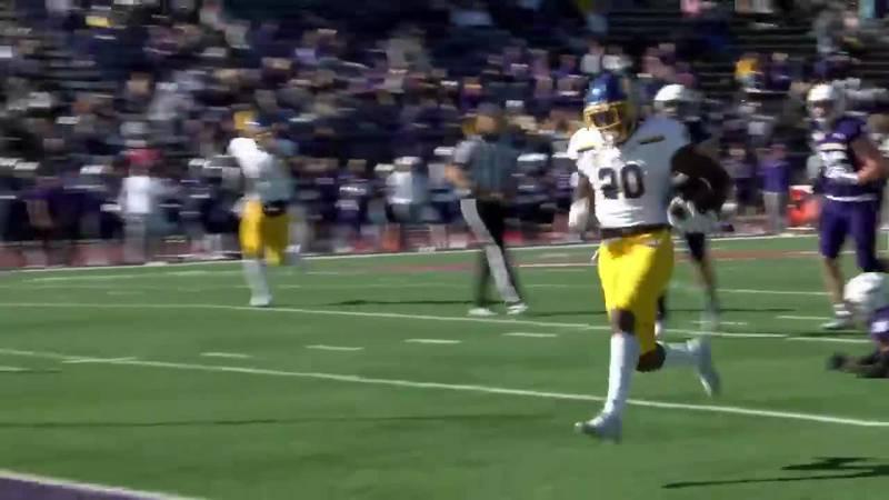 Touchdown run at Western Illinois