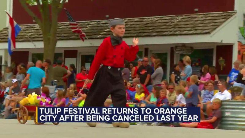Orange City celebrates 80th Tulip Festival