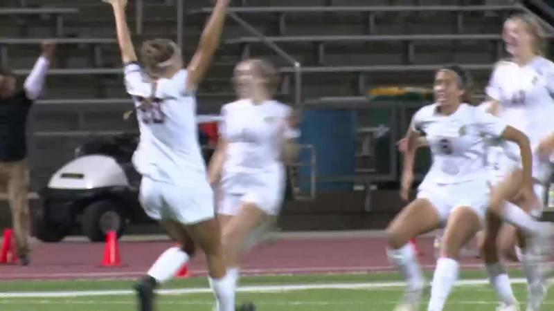 Scores State championship winning penalty kick goal