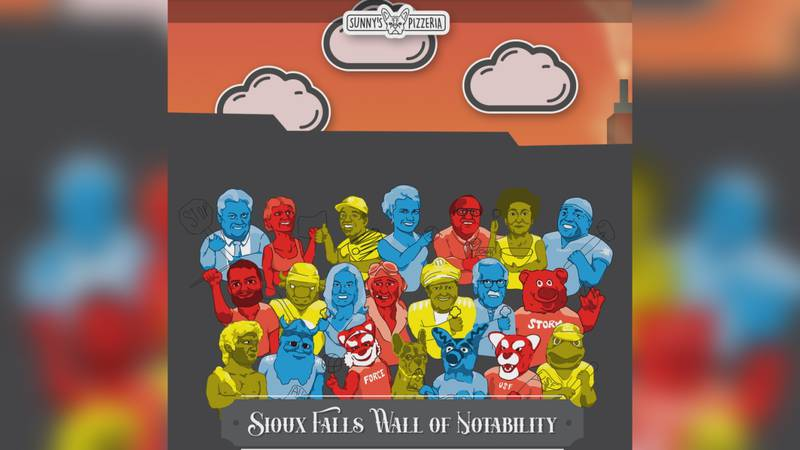 Sunny's Pizzeria is creating a mural honoring 21 Sioux Falls figures