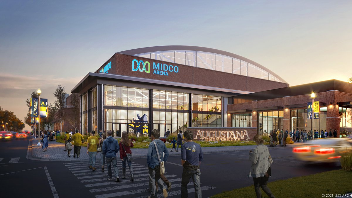 The $40 million arena will be named Midco Arena, with the lead gift from T. Denny Sanford,...