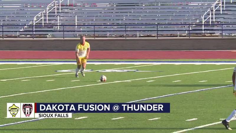 Thunder fall to Fusion in NPSL action Wednesday night