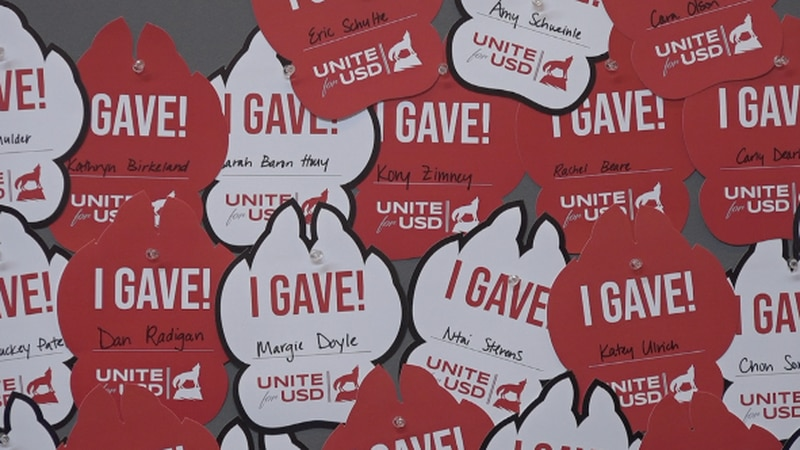 For 1,862 minutes, USD is holding its third annual Unite for USD giving day. It's an event to...