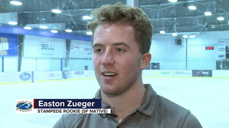 Sioux Falls native can't wait for Stampede home opener Saturday