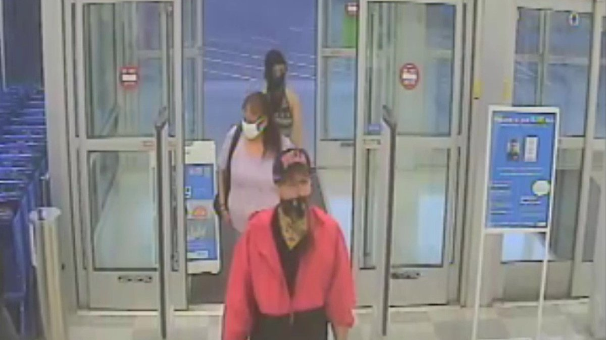 Authorities are investigating an armed robbery after three people tried to exit a Sioux Falls...