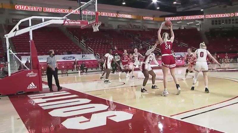 Women's hoop on 1-3-21