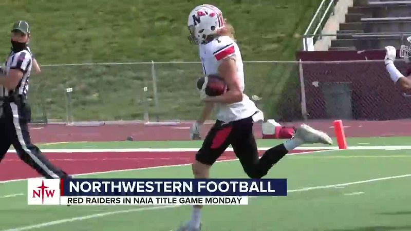Northwestern football team is happy to have another week together