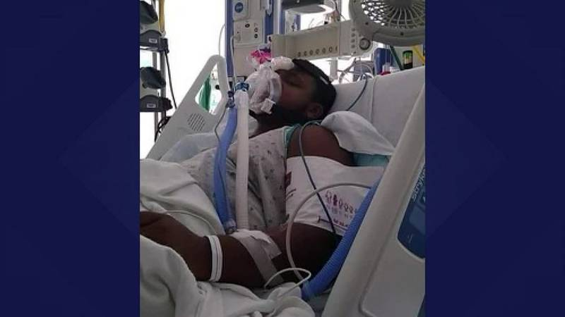 Elijah Johnson doesn't have any underlying conditions and had never been hospitalized.