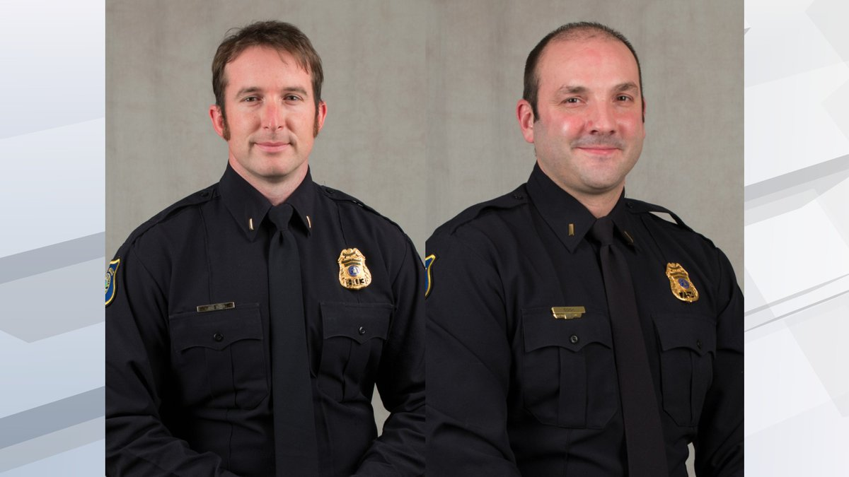 The two final candidates are Sioux Falls Police Lt. Jonathan Thum and Lt. Nick Cook.