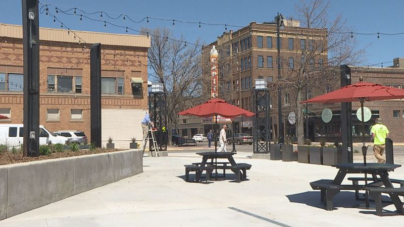 With new landscaping and paint being touched up, the new Malchow Plaza in Aberdeen is getting...