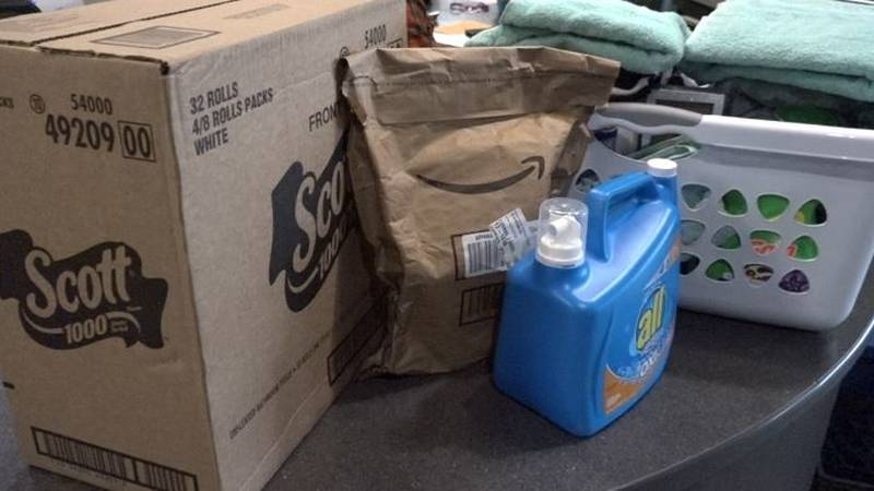 Donations sent to the Bishop Dudley Hospitality House in Sioux Falls.