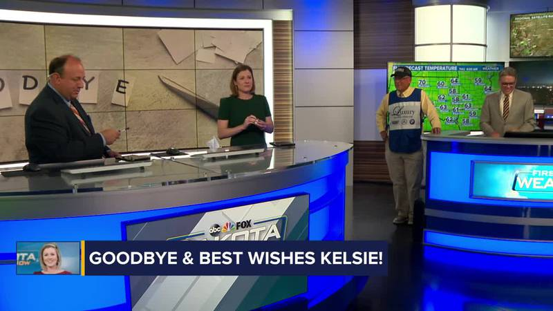 Kelsie Passolt's final show at Dakota News Now and well wishes from her co-workers