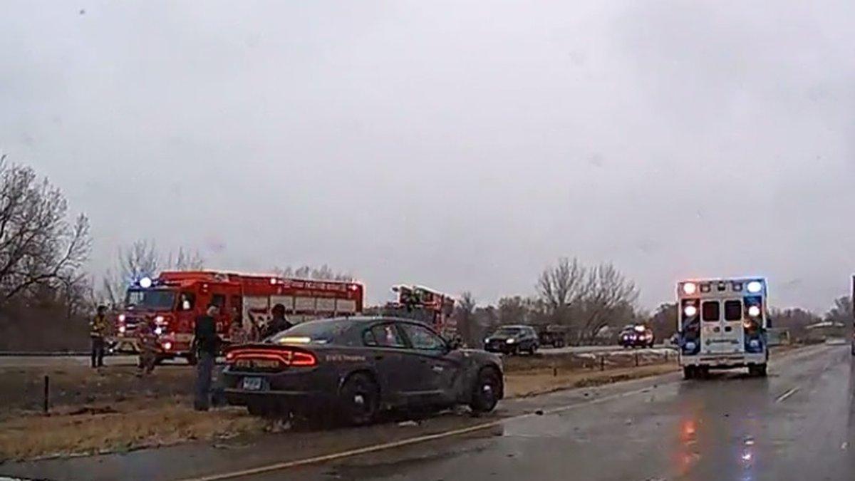 Crash on I-229 Tuesday morning