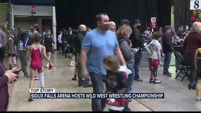 Sioux Falls Arena hosts Wild West Wrestling Championship
