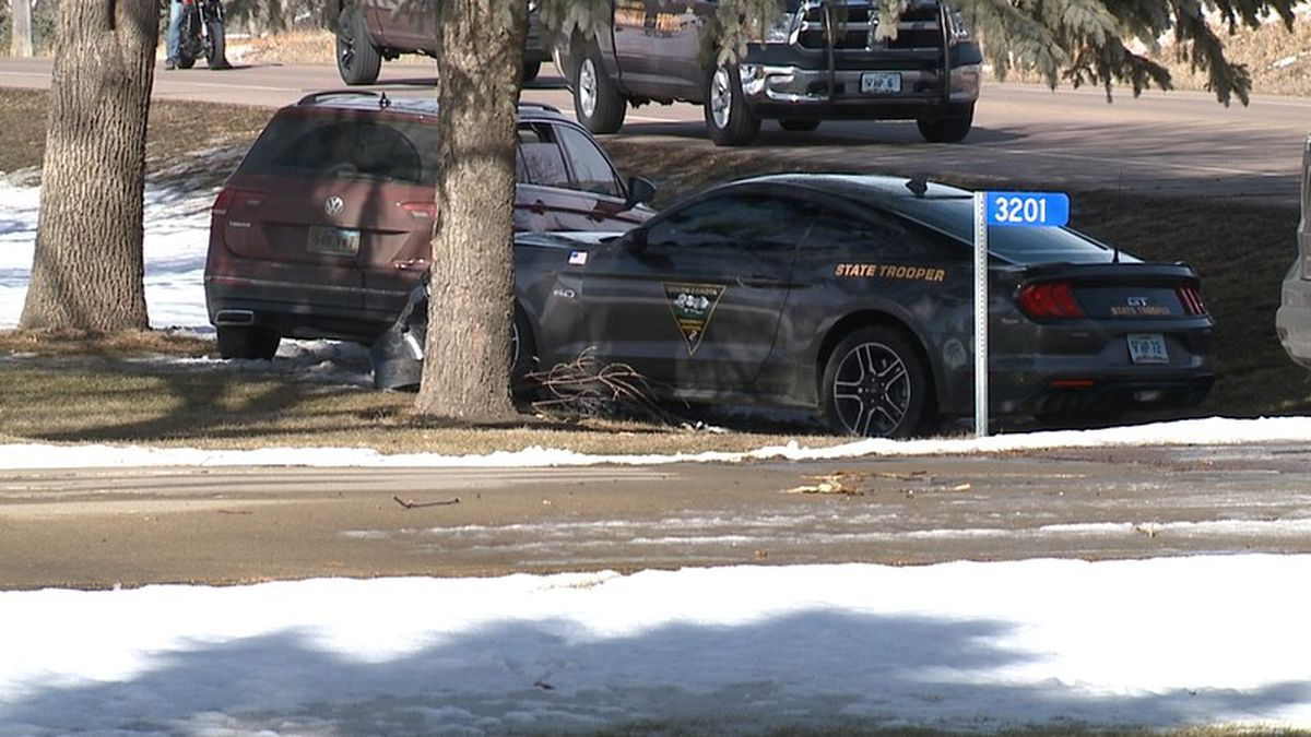 Three people are in custody after leading authorities in a high-speed pursuit through Sioux...