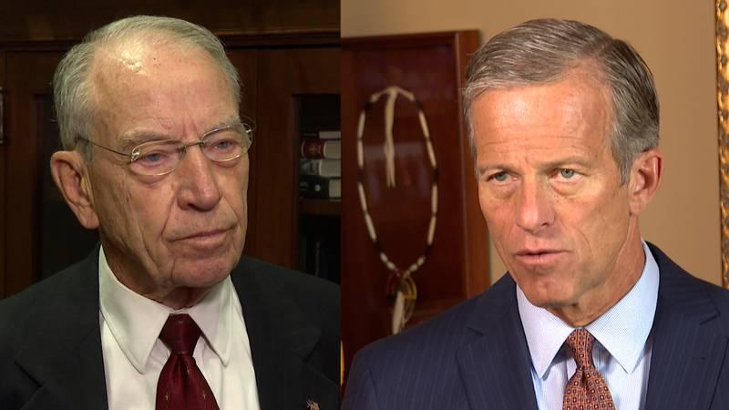 Senators Chuck Grassley and John Thune reflect on 9/11 20th anniversary.