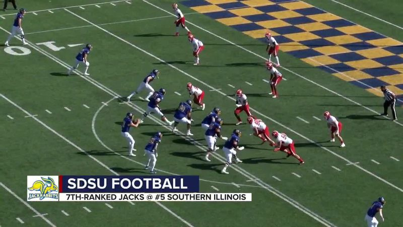 Big weekend ahead for SDSU football in Missouri Valley at Southern Illinois