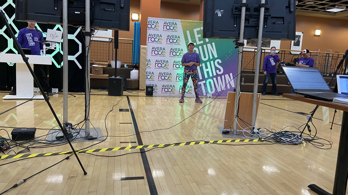 The 2021 Avera Race Against Cancer kicked off virtually Saturday in Sioux Falls.