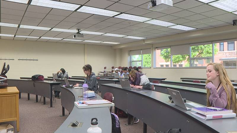 Although classes are out at Northern State University, campus isn't quiet yet. That's because...
