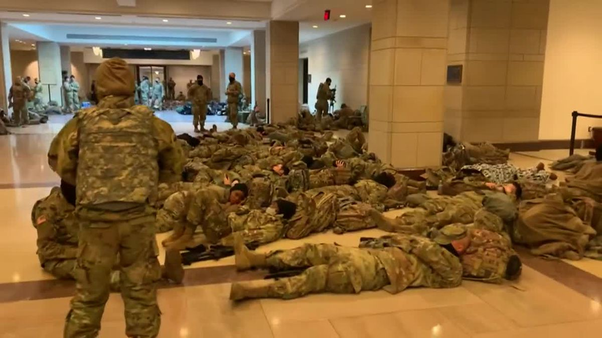 More than 20,000 National Guard troops are expected to help keep Washington, D.C., secure as...