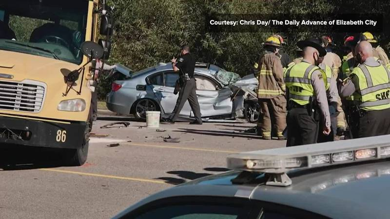 A wild chase involving a driver of a BMW and sheriff's deputies from two North Carolina...